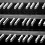 Klaviatuur Marcussen-orgel Kloosterkerk (foto Gerhard van Roon)