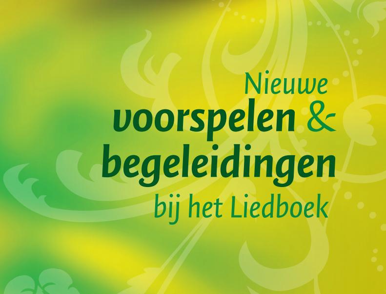 liedboek orgel bewerkingen
